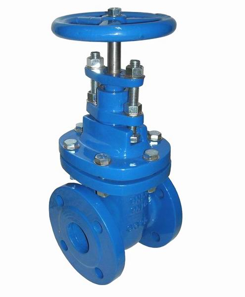 DIN 3352 F4 GATE VALVE-  NRS, METAL SEATED (HEAVY TYPE)
