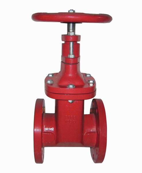 AWWA/ANSI - NRS, GATE VALVE RESILIENT SEATED